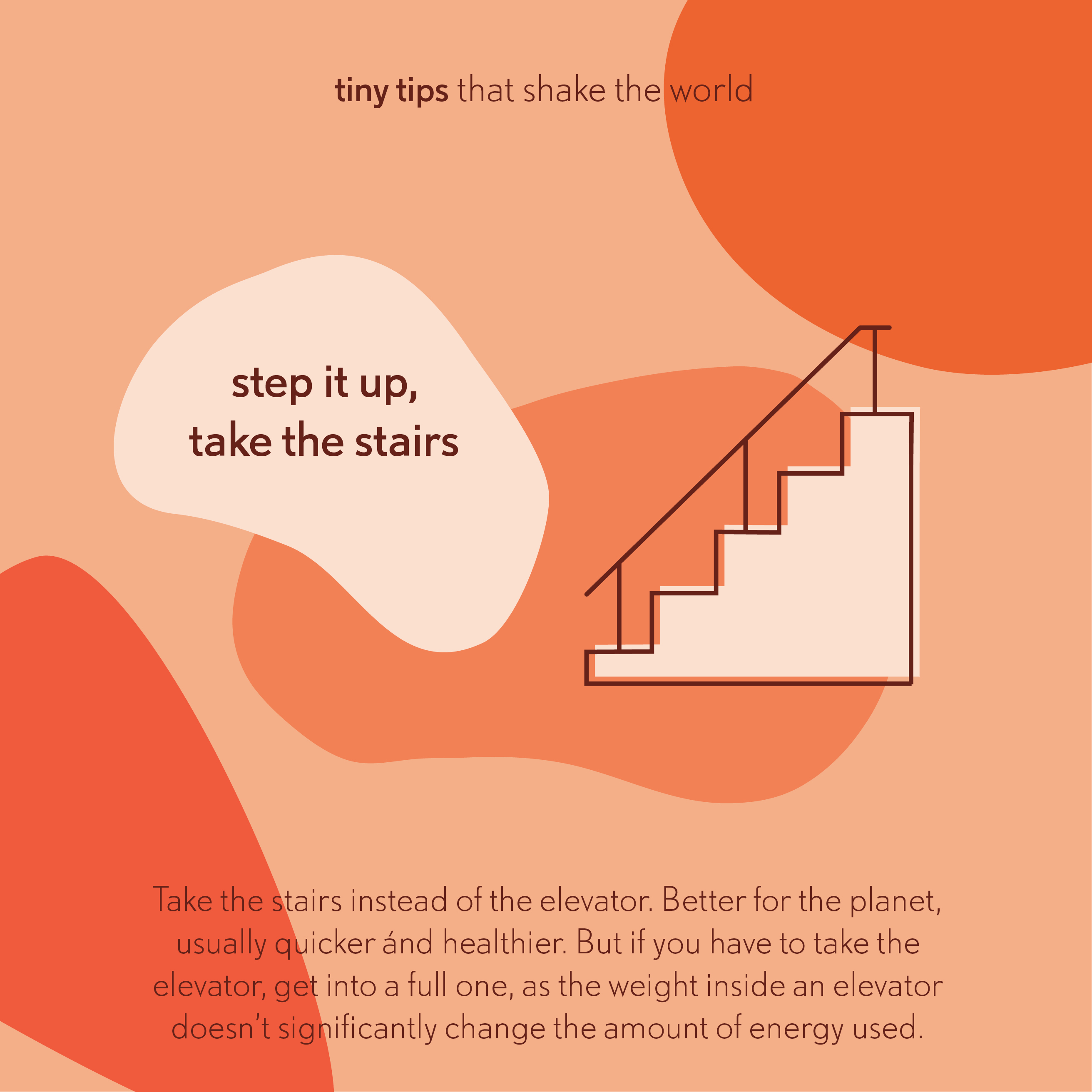 20190123 Step it up, take the stairs