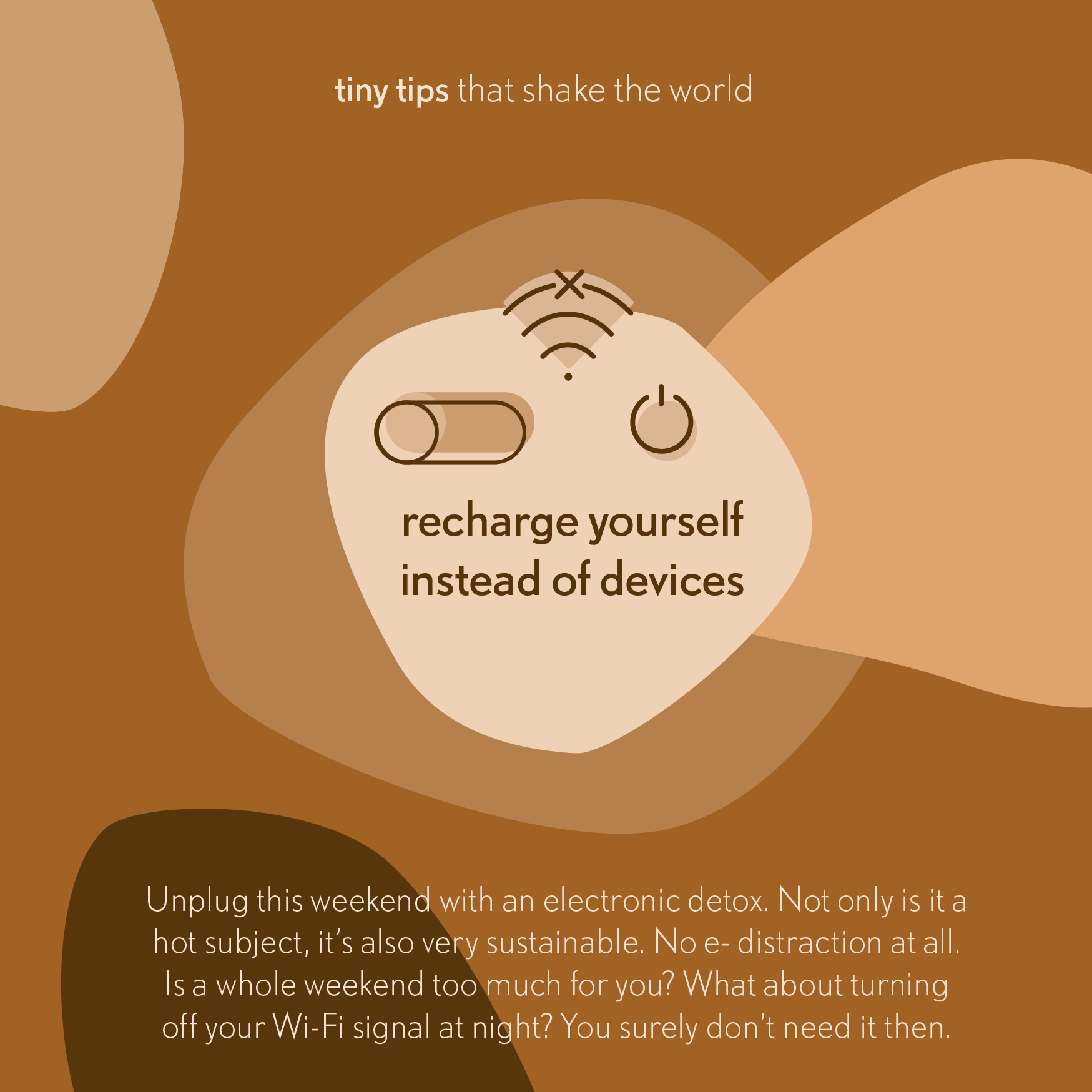 Tiny tips that shake the world electronic detox2