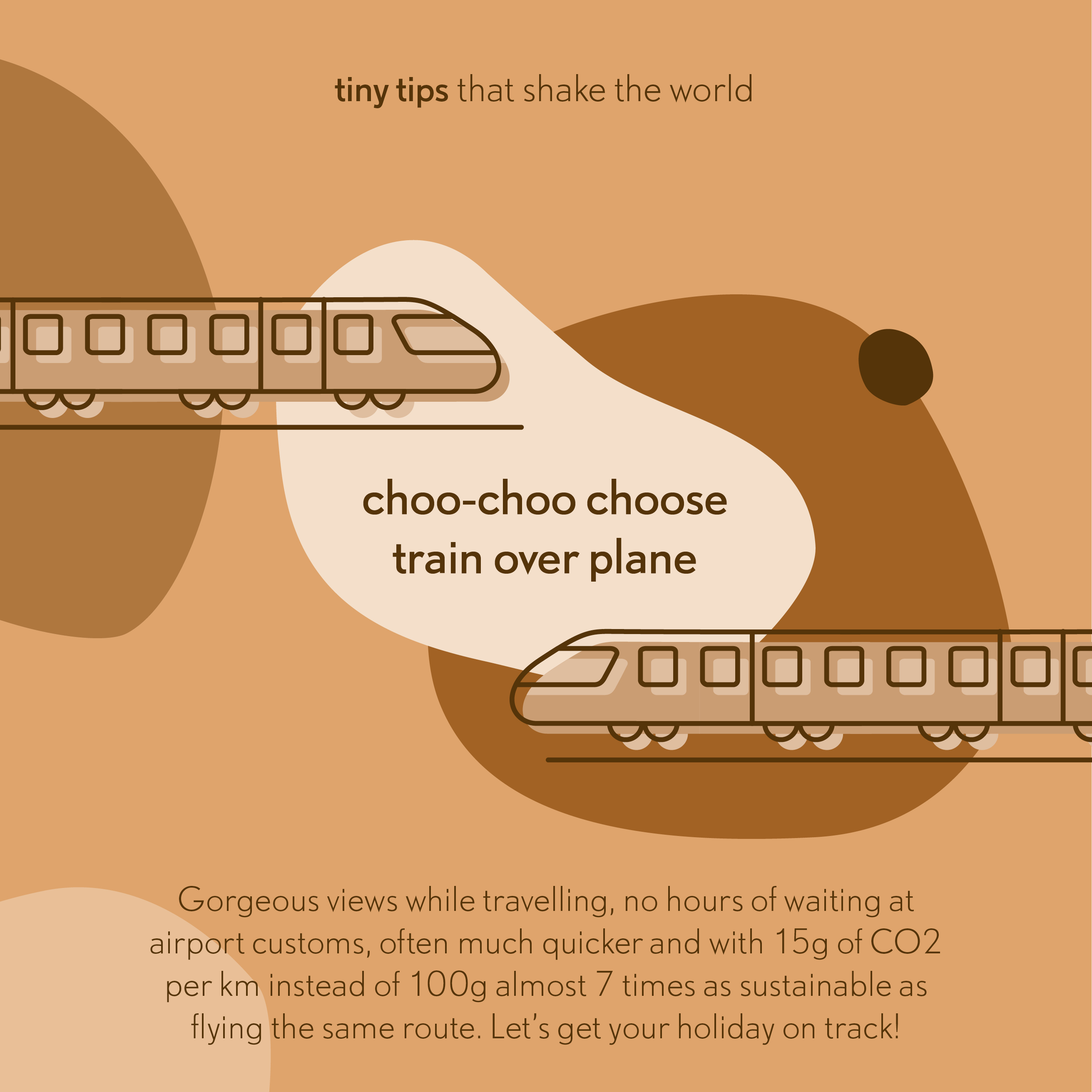 20190630 Choo-choo choose train over plane