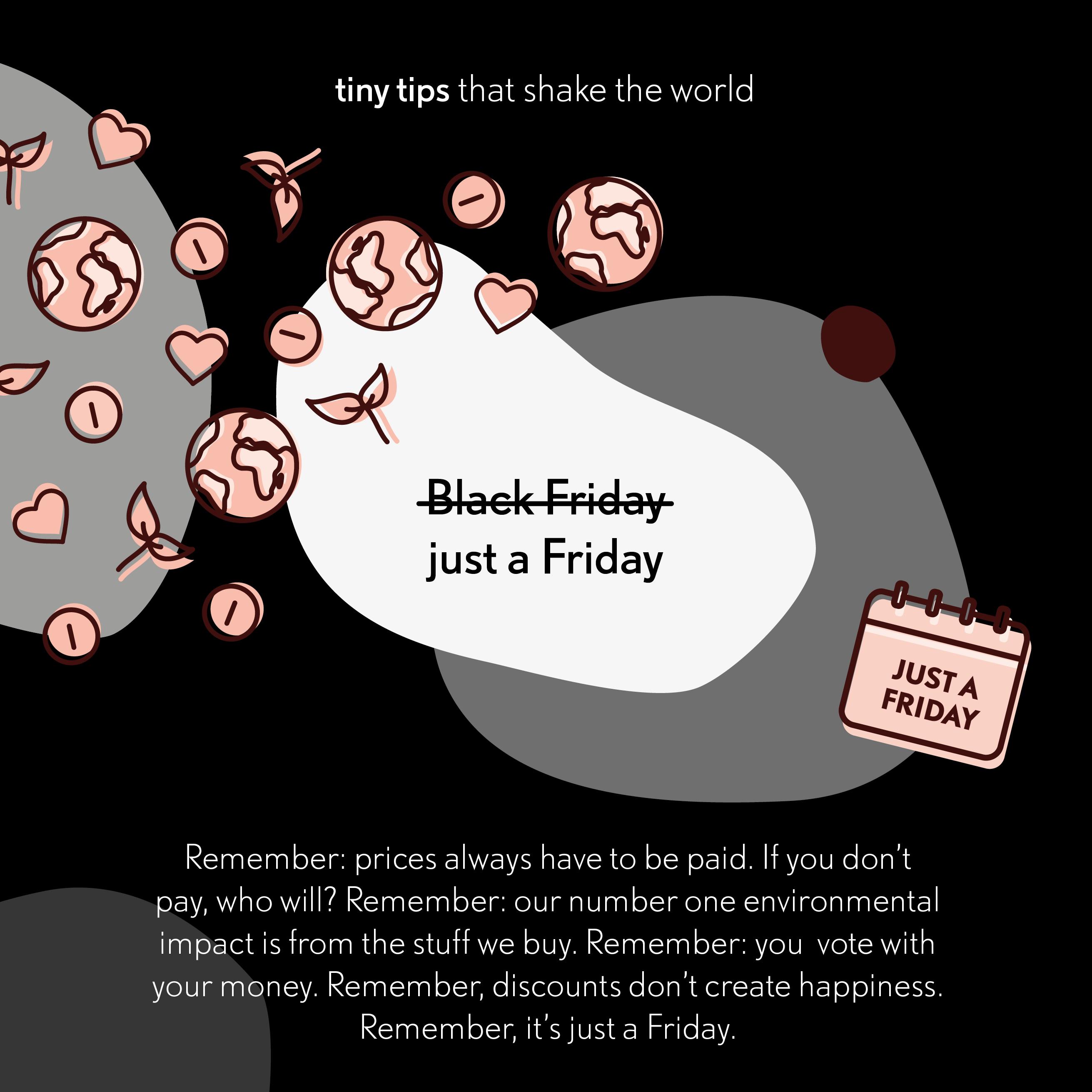 20191129 Black Friday Tiny tips that shake the world